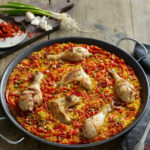 Chicken Paella Recipe — Dishmaps
