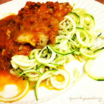 Chicken Pasta With Zoodles {oh, And A Bonus Chicken Zoodle …