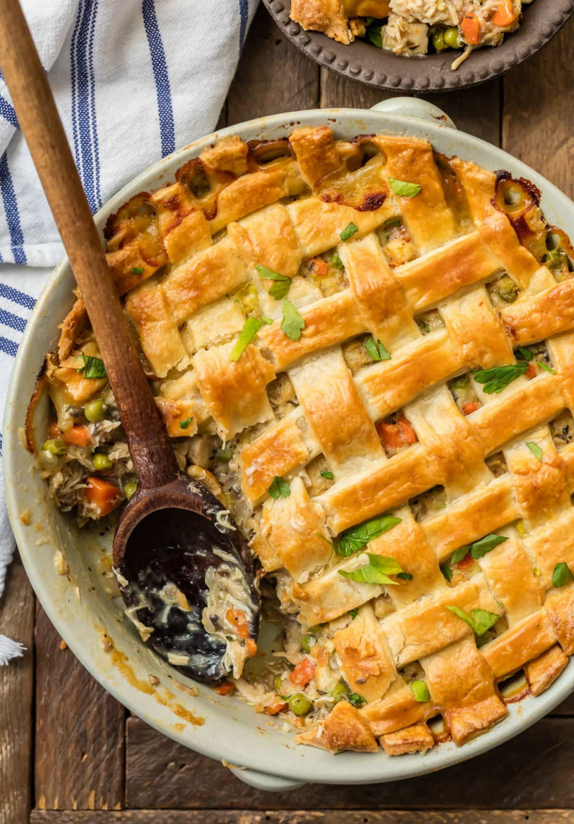 Chicken Pot Pie Casserole - EASY Chicken Pot Pie Recipe ...
