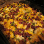 Chicken Red Potato Casserole