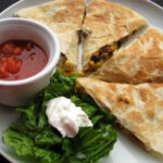 Chicken, Roasted Corn And Black Bean Quesadillas (2)