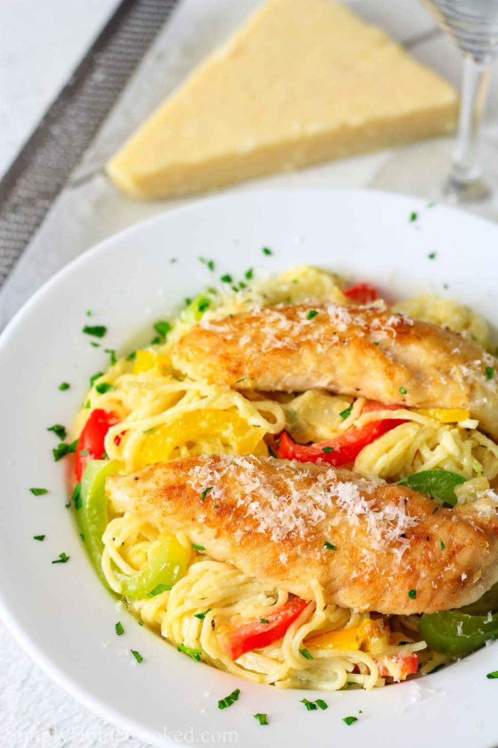 Chicken Scampi Recipe - Simply Home Cooked