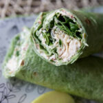 Chicken, Spinach & Cream Cheese Tortilla Wrap – Tried And …
