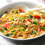 Chicken Stir-Fry with Noodles Recipe | Taste of Home