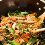 Chicken Stir Fry With Rice Noodles | RecipeTin Eats