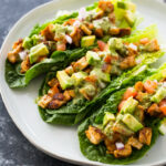 Chicken Taco Lettuce Wraps (Healthy, Low Carb, Keto)