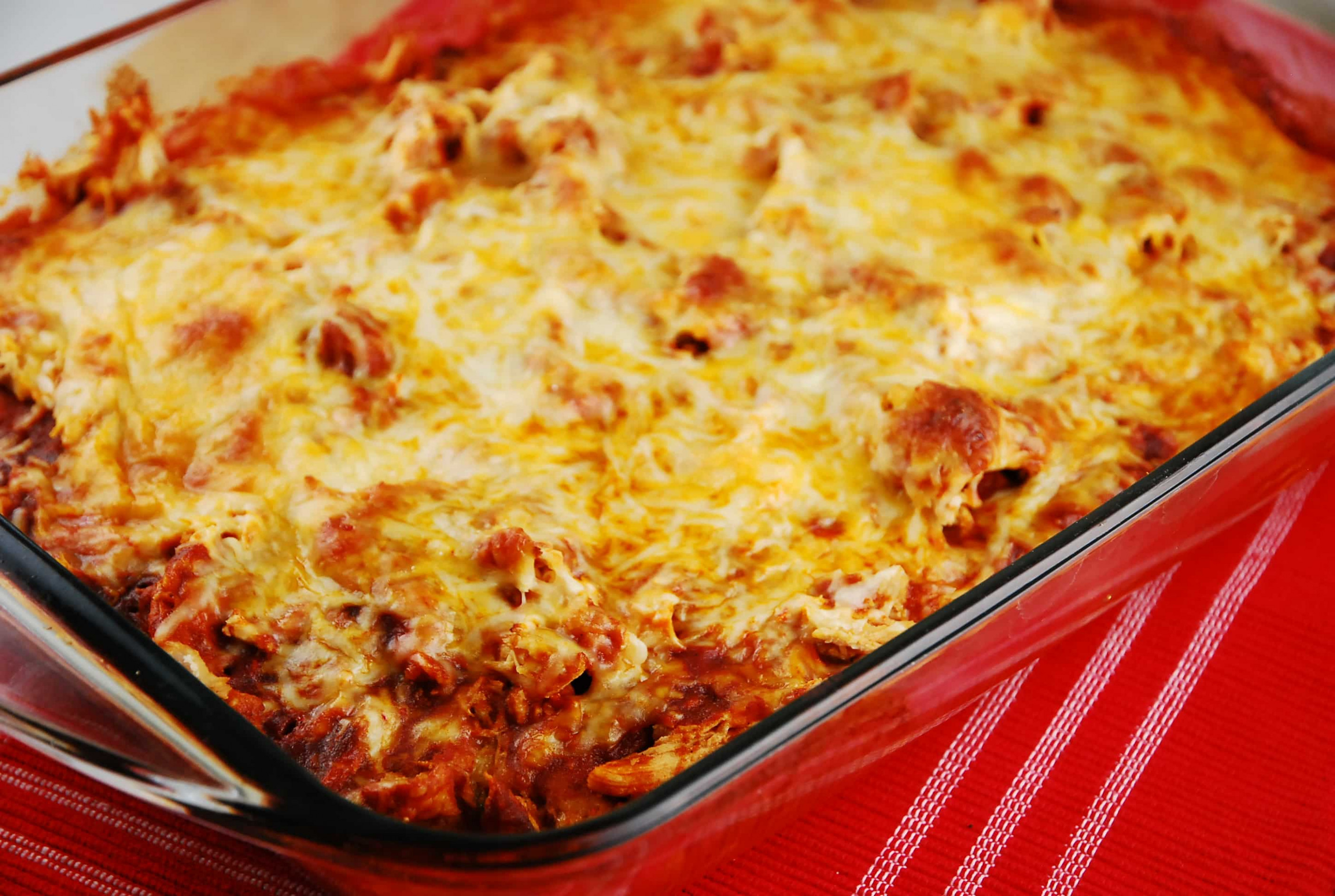 Chicken Tamale Casserole Recipe - 6 Points + - LaaLoosh