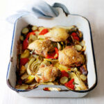 Chicken Thighs With Roasted Vegetables