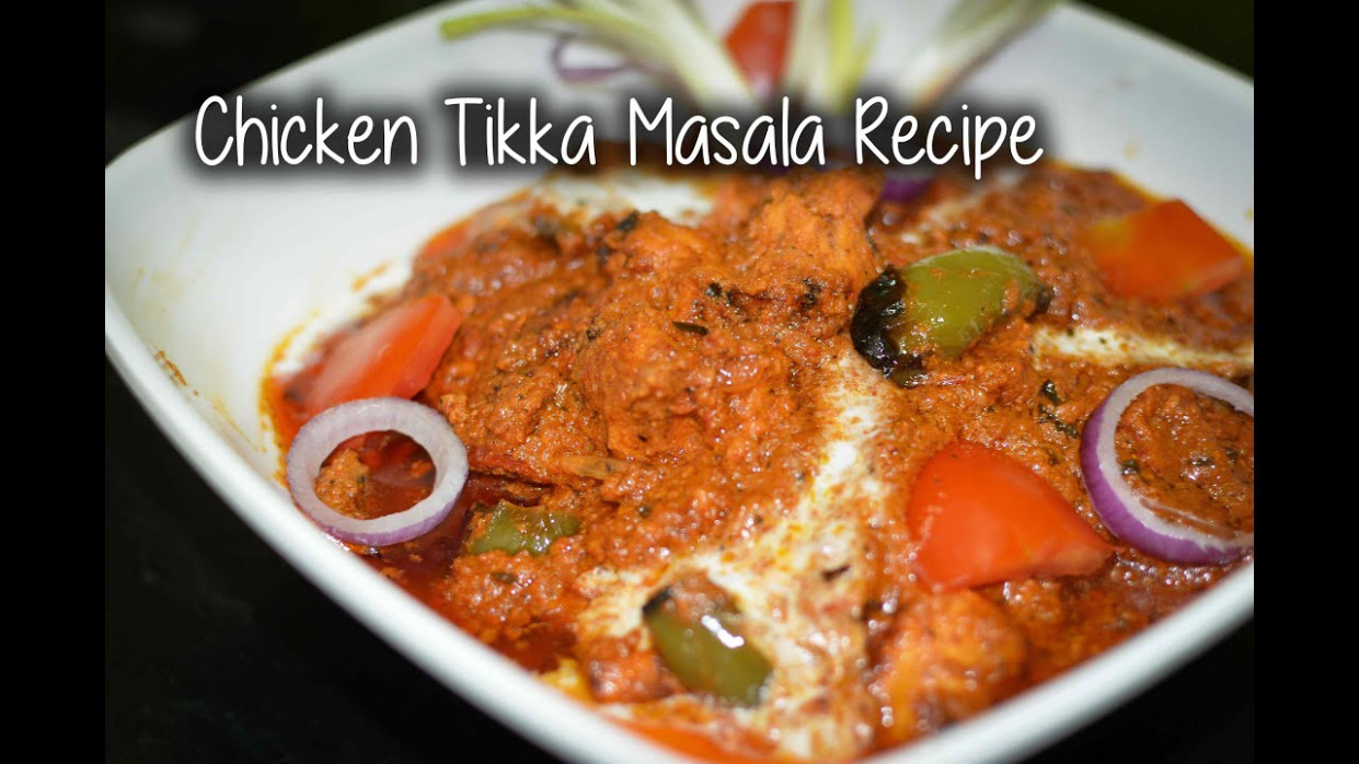 Chicken Tikka Masala Recipe | Easy chicken tikka masala ...