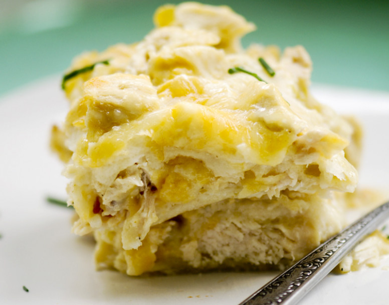 Chicken Tortilla Casserole Recipe — Dishmaps