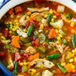 Chicken Vegetable Soup – Dinner At The Zoo