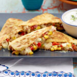 Chicken, Veggie, & Beef Quesadillas Recipes : Food Network …