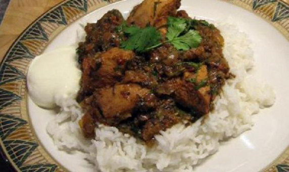 Chicken Vindaloo Recipe - Visual Recipes