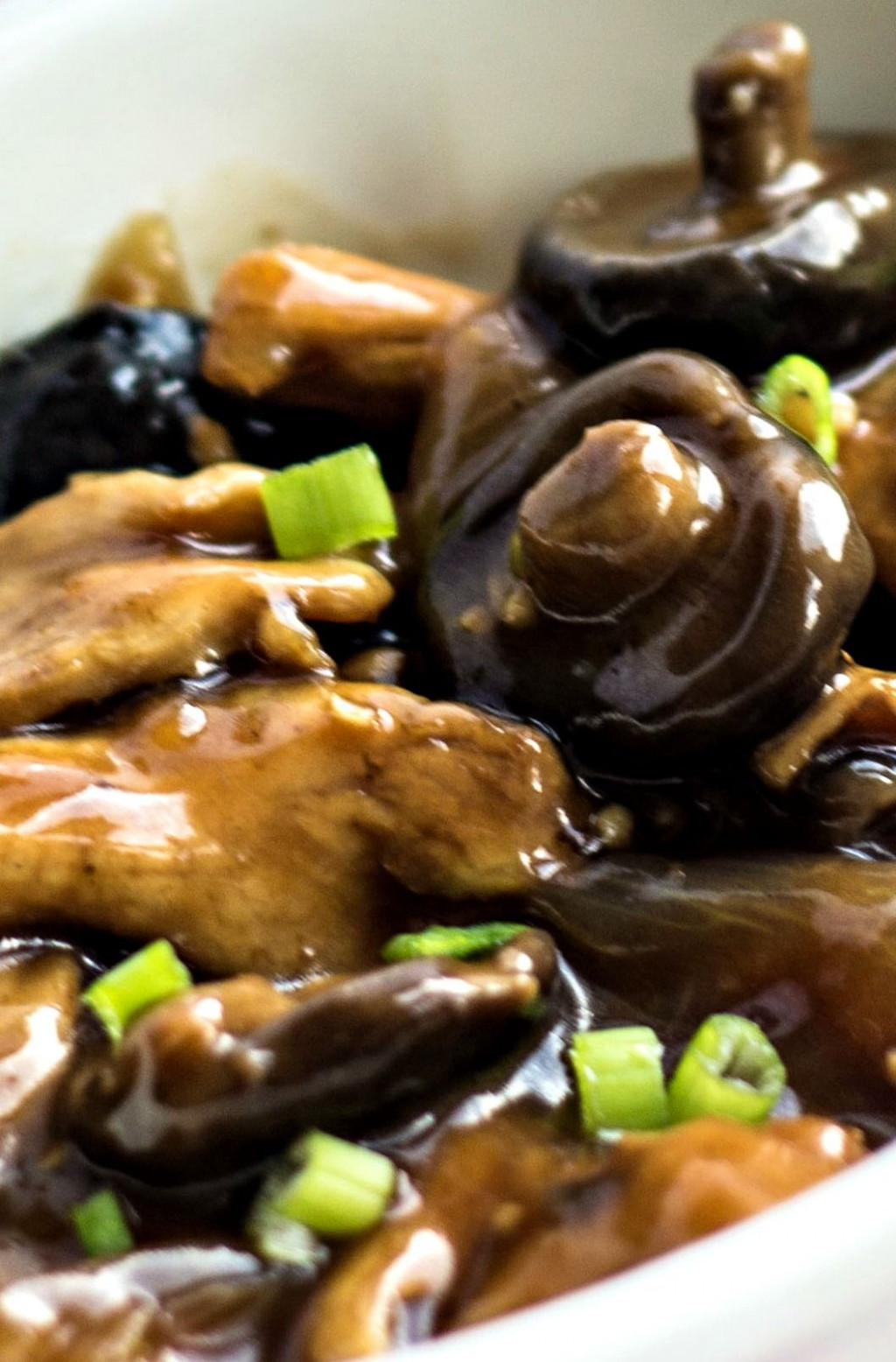 Chicken with Chinese Mushrooms | Recipe | Real Chinese ...