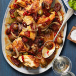 Chicken With Chorizo & Olives