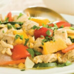 Chicken With Fall Vegetables And Whole Grain Couscous