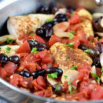 Chicken With Tomatoes And Olives Recipe – Add A Pinch