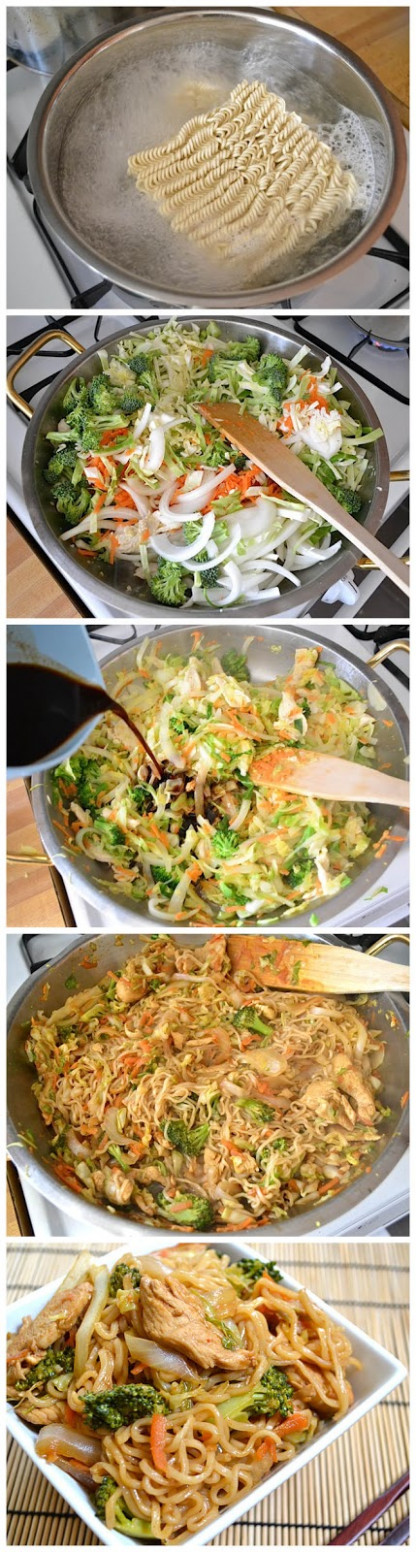 Chicken Yakisoba | Home and Heart DIY