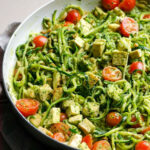 Chicken Zucchini Noodles With Pesto – IFOODreal – Healthy …