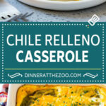 Chile Relleno Casserole - Dinner at the Zoo