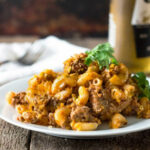 Chili Mac And Cheese Casserole