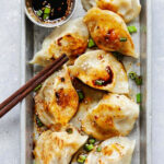Chinese Chicken Dumplings Crispy and Juicy | Rasa Malaysia