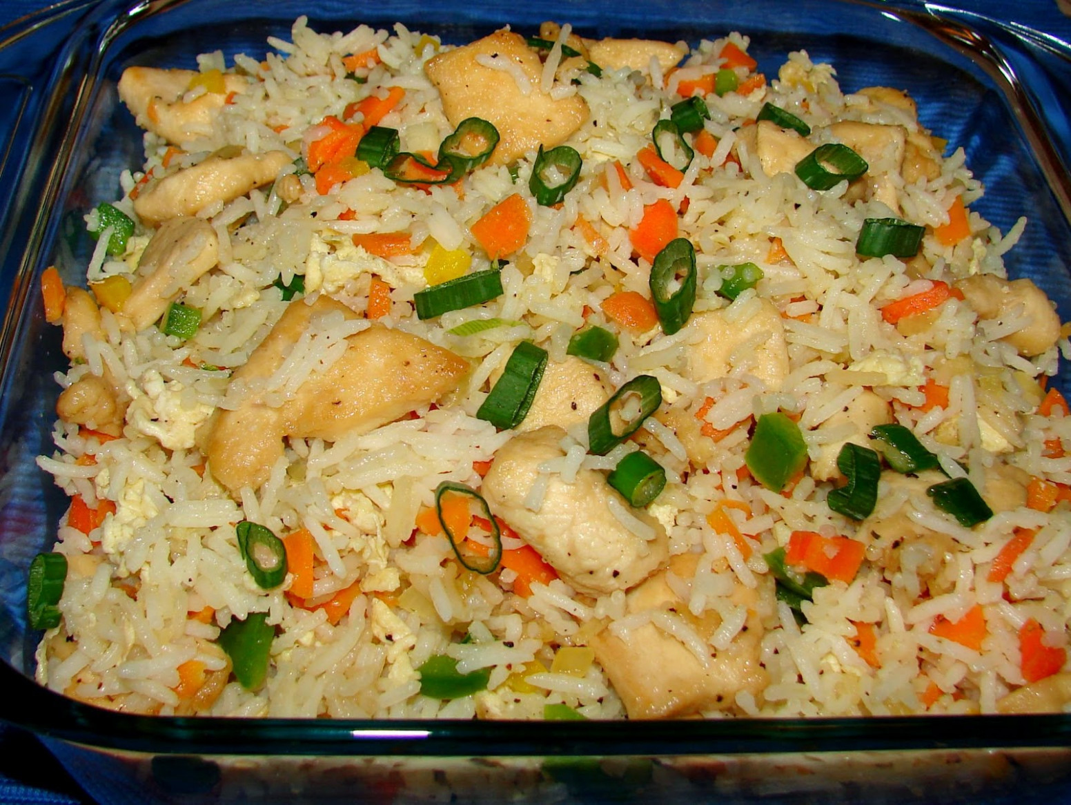 Chinese Chicken Fried Rice Recipe | Food online