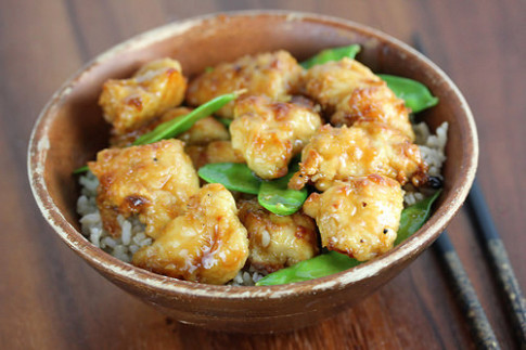 Chinese Chicken with Snow Peas Recipe - BlogChef