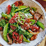 Chinese Stir Fried Chicken With Vegetables Recipe — Dishmaps