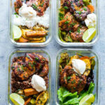 Chipotle Chicken Meal Prep Lunch Bowls – 4 Ways