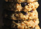 Chocolate Chip Peanut Butter Oatmeal Cookies {Recipe Video ...