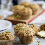 Chocolate Chip Zucchini Muffins | Easy Healthy Recipes