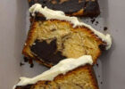 Chocolate Marble Cake with White Chocolate Icing - The ...