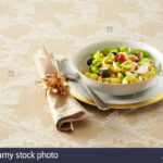 Christmas Pasta Salad Stock Photo: 12 – Alamy
