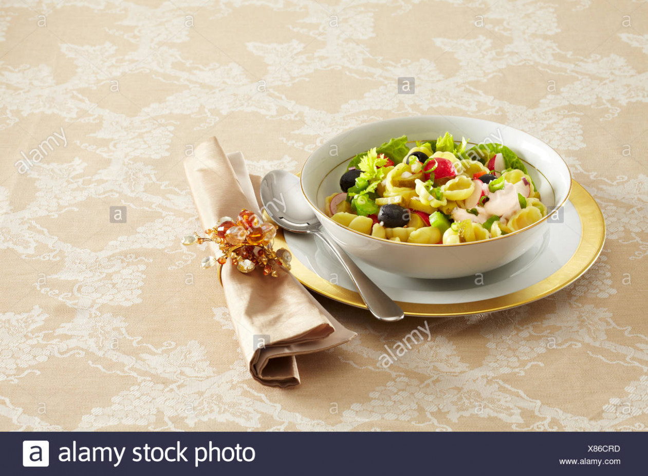 Christmas pasta salad Stock Photo: 12 - Alamy
