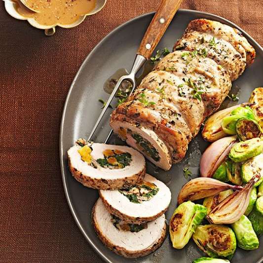 Christmas Pork Dinner Recipes | Spinach, Types of ...