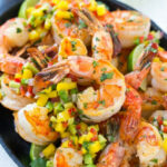 Cilantro Lime Shrimp With Mango Salsa – Dinner At The Zoo