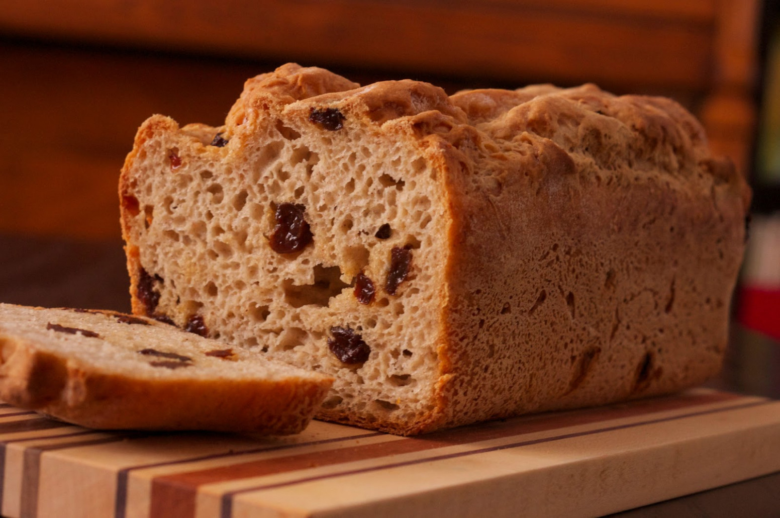 Cinnamon-Raisin Bread Recipe — Dishmaps