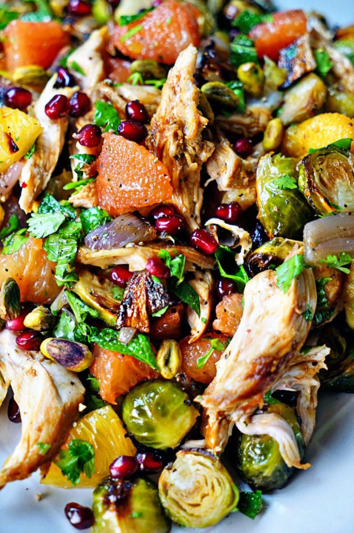 Cinnamon Star Anise Citrus Roasted Chicken Salad - Kevin ...