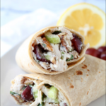 Classic Chicken Salad Wraps – Love Grows Wild