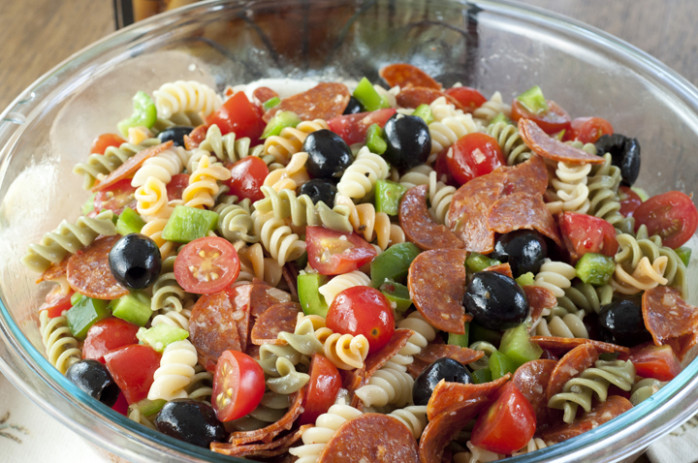 Classic Italian Pasta Salad | Wishes And Dishes