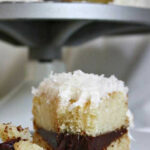 Coconut Layer Cake With Chocolate Ganache Filling – Flavorite