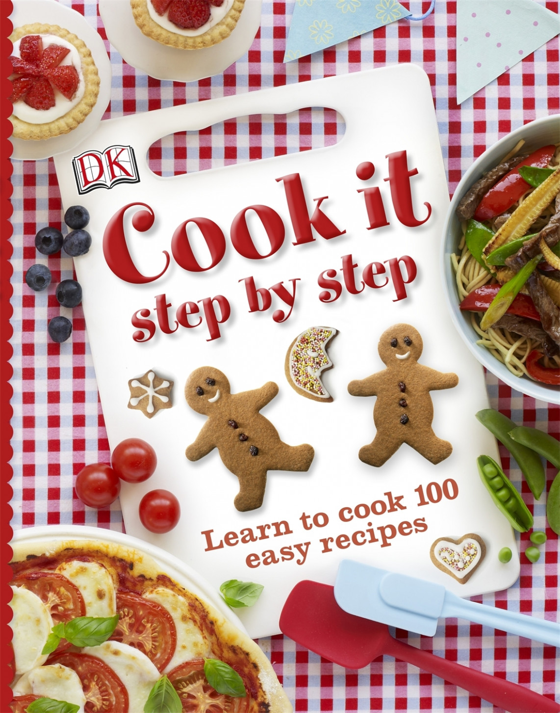 Cook It Step by Step - Learn to cook 100 easy recipes
