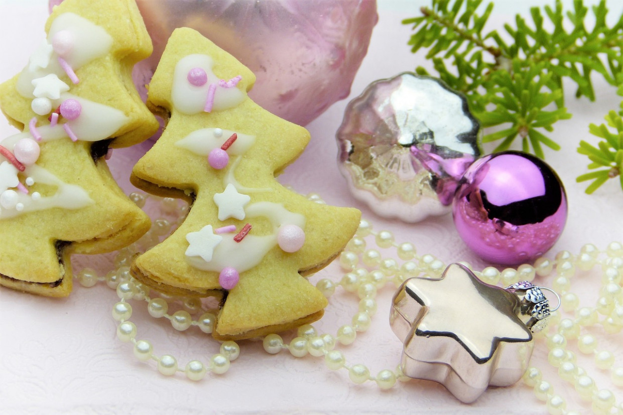 Cookie, Christmas Cookies, Fir Tree