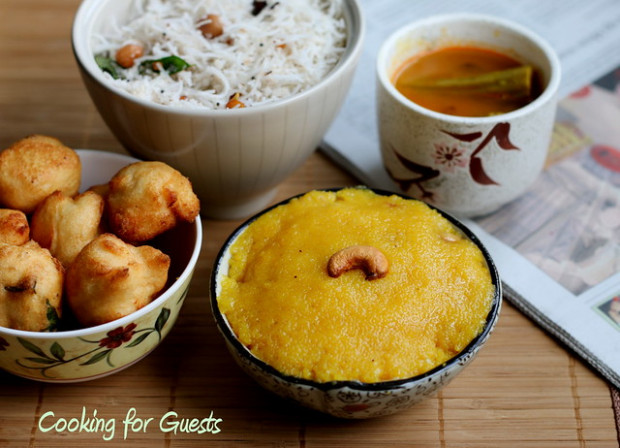 COOKING FOR GUESTS #7 - SOUTH INDIAN TIFFIN   SNACK MENU ...