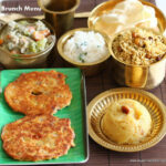 COOKING FOR GUESTS RECIPES #9 – ADAI AVIYAL AND MORE …