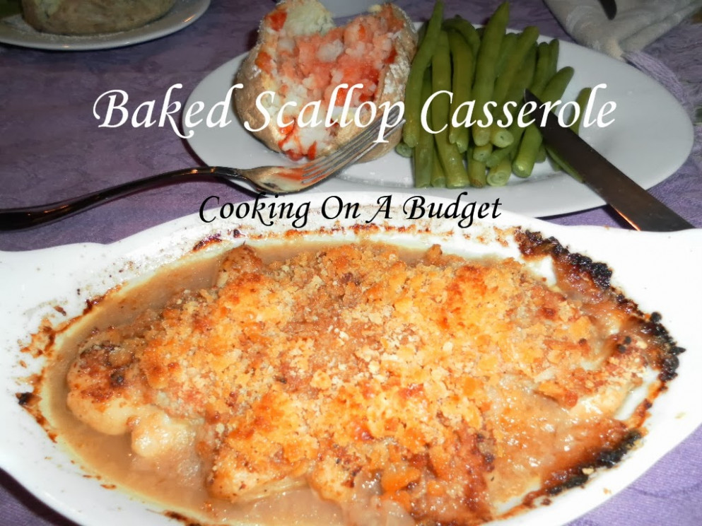 Cooking On A Budget: Scallop Casserole