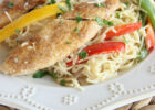 Copycat Olive Garden Chicken Scampi   Diary of A Recipe ...