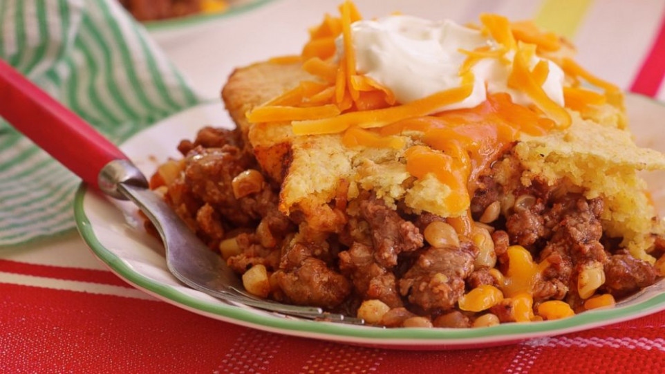 Cornbread-Chili Casserole - Trisha Yearwood | Recipe - ABC ...