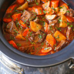 Cozy Slow Cooker Beef Stew | FaveSouthernRecipes